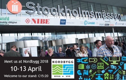 Nordbygg 10-13 April 2018