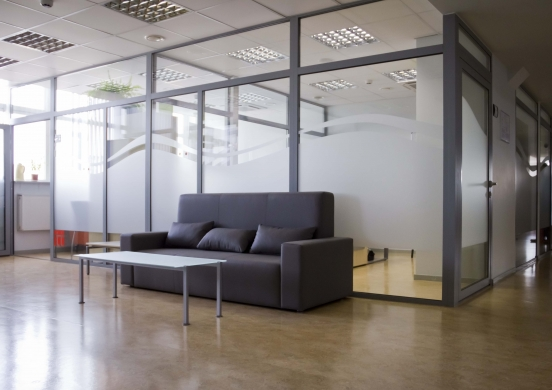 office aluminium partition wall